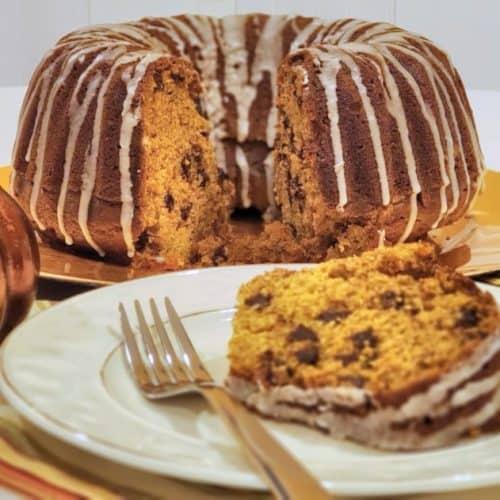 Pumpkin Dump Bundt Cake