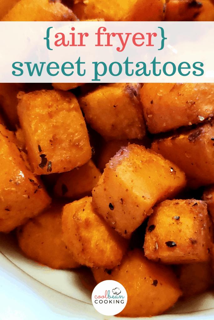 air fryer seasoned sweet potatoes