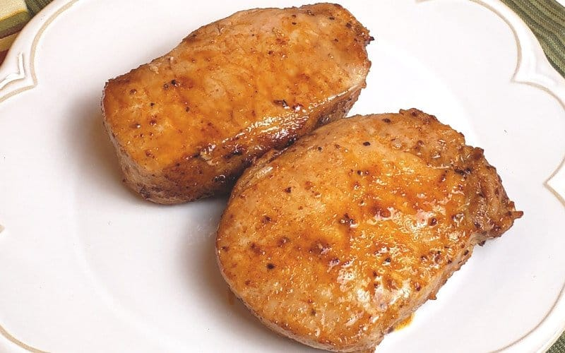 boneless pork chops made quickly in the air fryer
