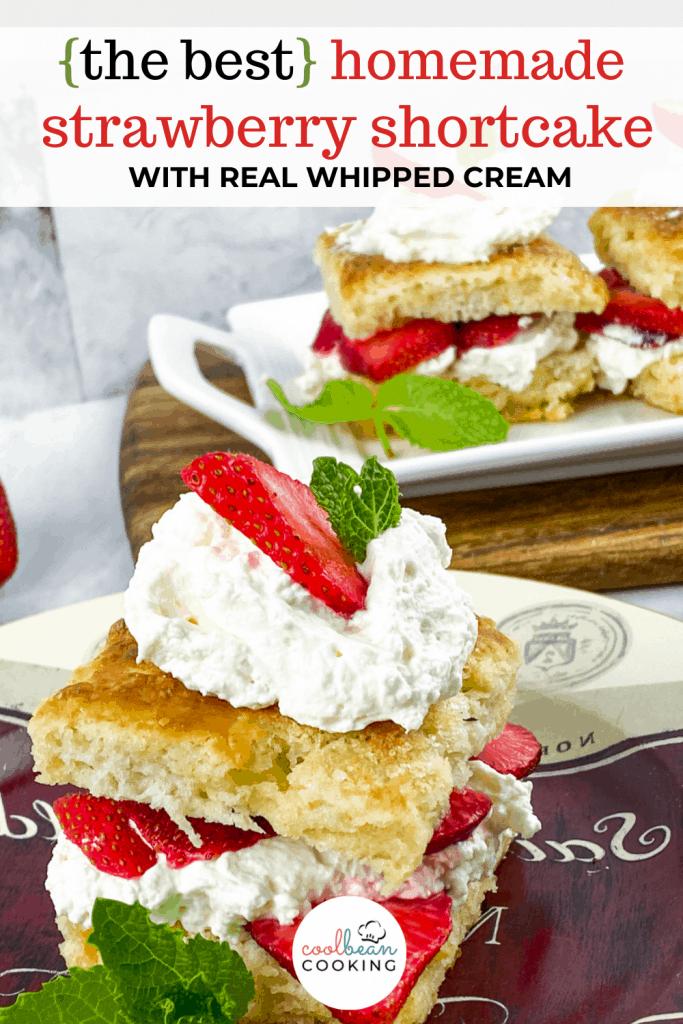 strawberry shortcake from scratch