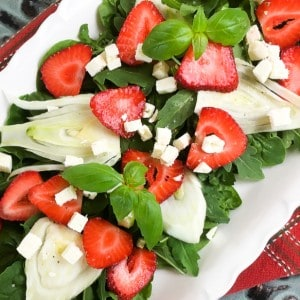 Strawberry and Fennel Salad