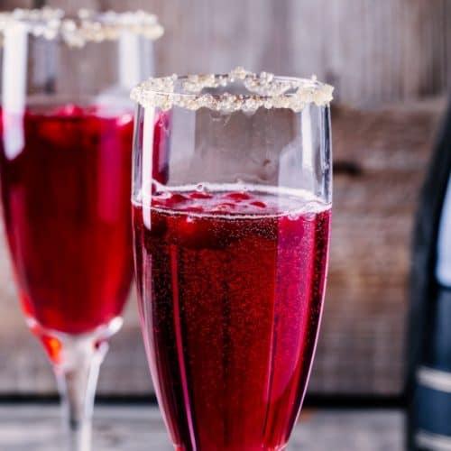 Prosecco Cranberry Mimosa