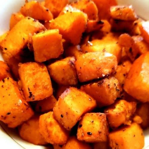 Seasoned Sweet Potatoes Made in Air Fryer