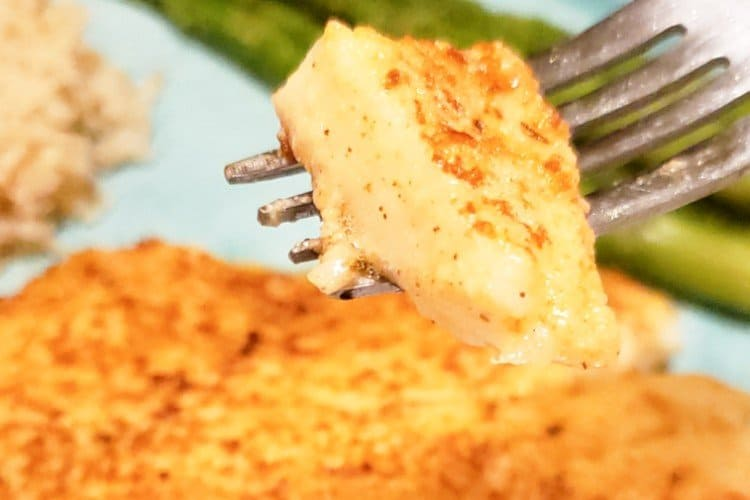 Parmesan Crusted Tilapia Made in Just 10 Minutes
