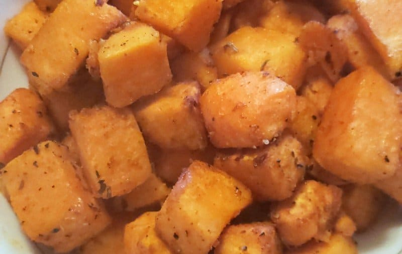 Tastiest Air Fryer Sweet Potatoes