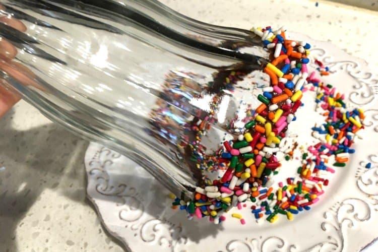 Roll Rim in Rainbow Sprinkles