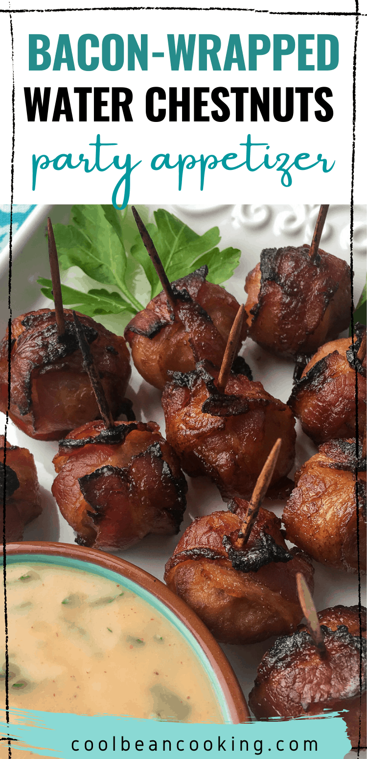 Bacon Wrapped Chestnuts Party Appetizer