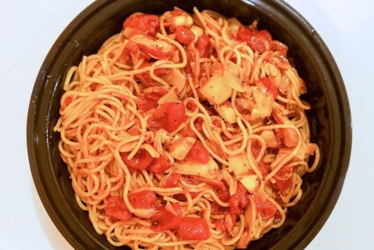 Artichoke and Tomato Pasta
