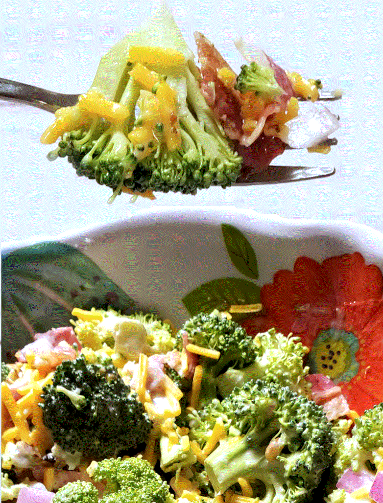 Sweet Broccoli Bacon Salad