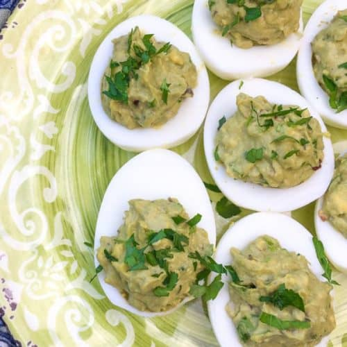 Avocado Deviled Eggs Recipe