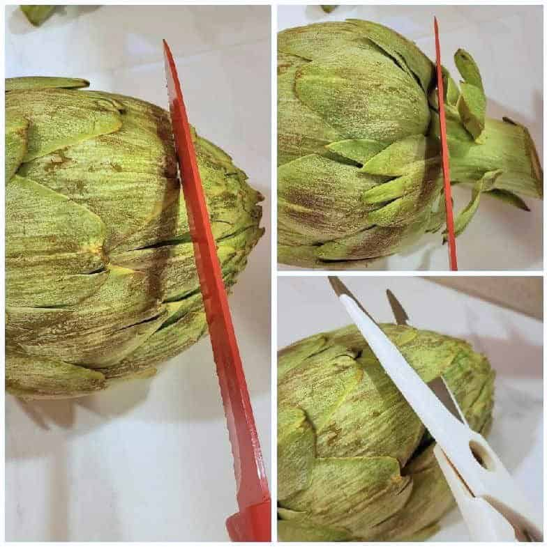 How To Cut An Artichoke