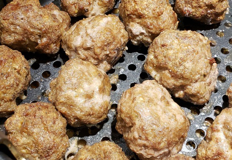 Air Fried Meatballs