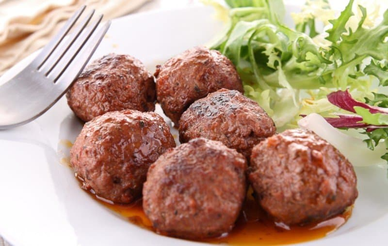 Meatballs Made in the Air Fryer