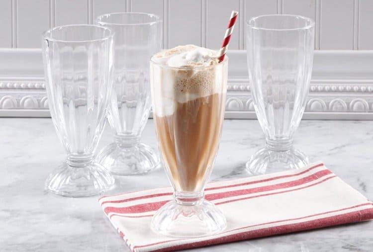 Classic Milkshake Glasses