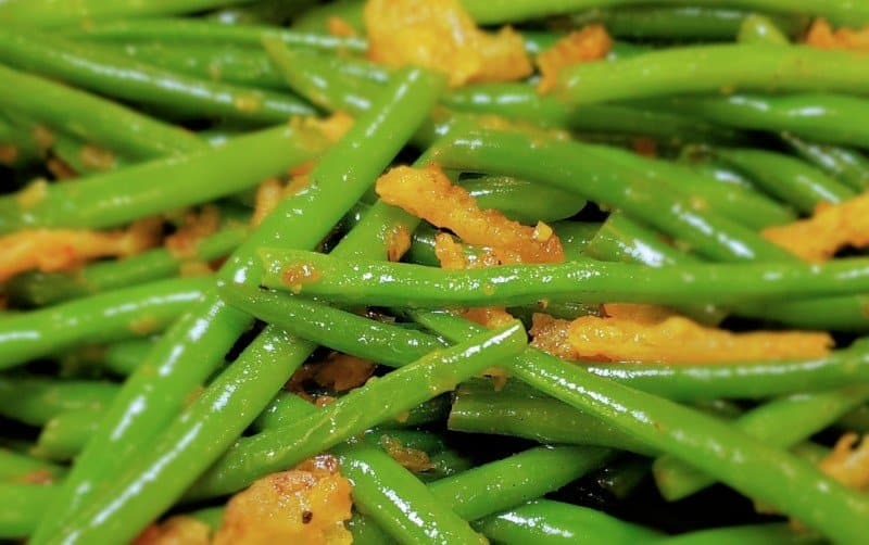 French Fried Onion Green Beans