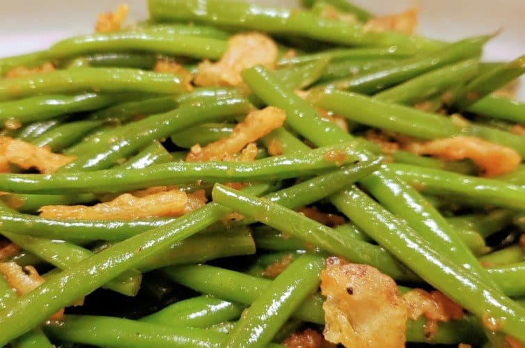 Sauteed Green Beans with French Fried Onion