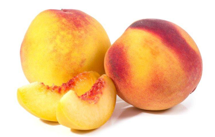 Ripe Peaches for Peach Cobbler