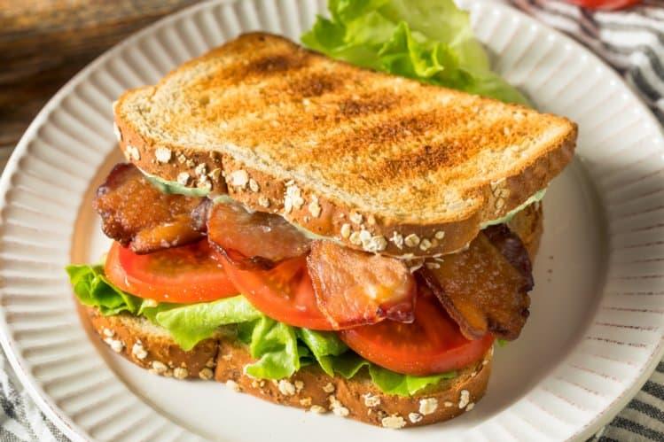 BLT with Avocado Sandwich