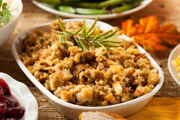Sausage Stuffing with Herbs