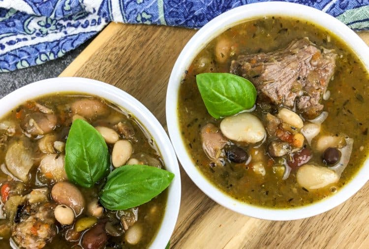 15 Bean Soup with Country Pork Ribs