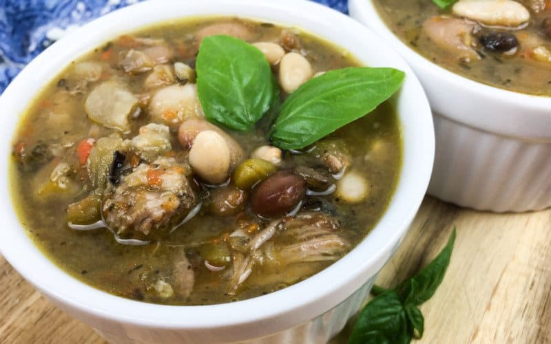 Multi Bean and Pork Rib Soup