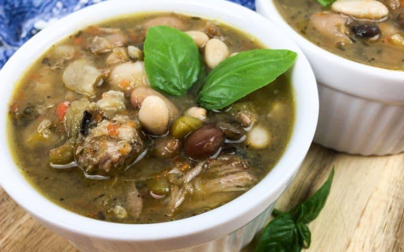 Multi Bean and Pork Rib Soup