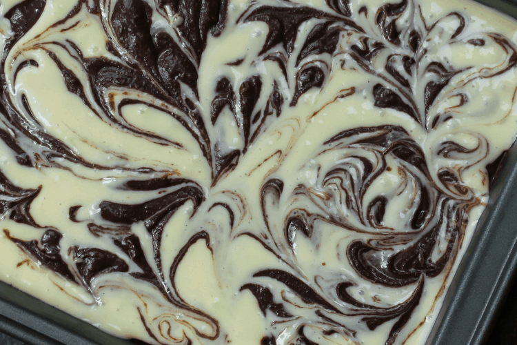 Swirled Brownies