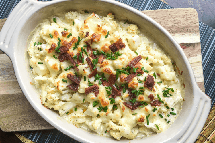 Loaded Cauliflower Side Dish
