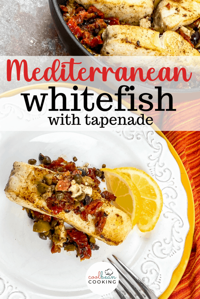 Mediterranean Whitefish with Tapenade