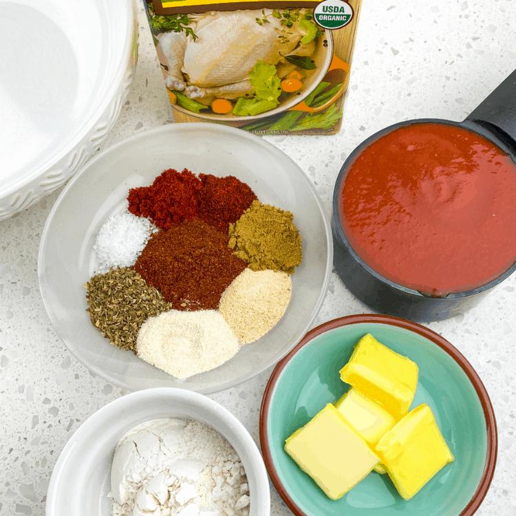 spices to make enchilada sauce
