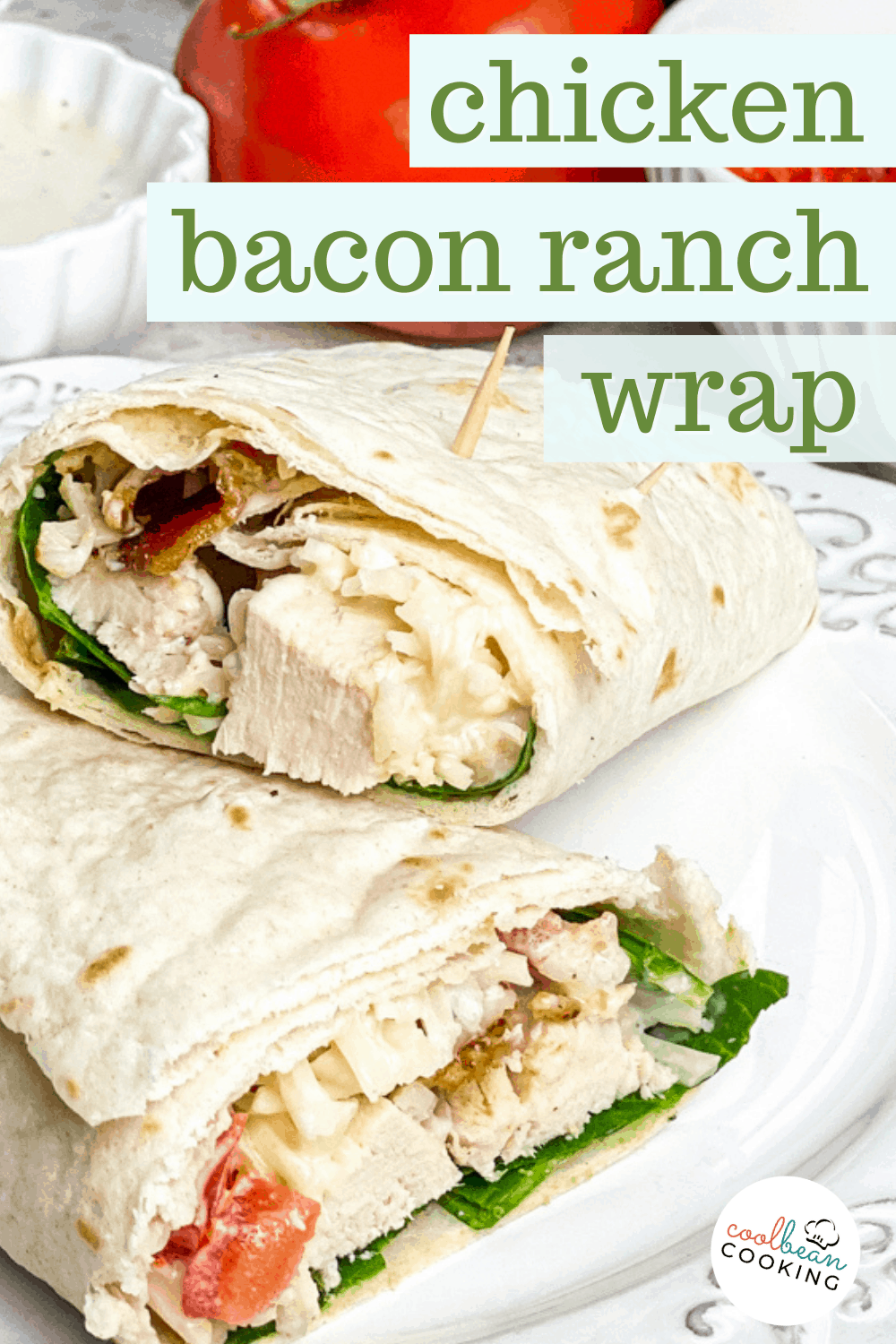 chicken bacon ranch sandwich wrap