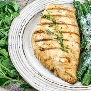 easy marinated and grilled chicken breast