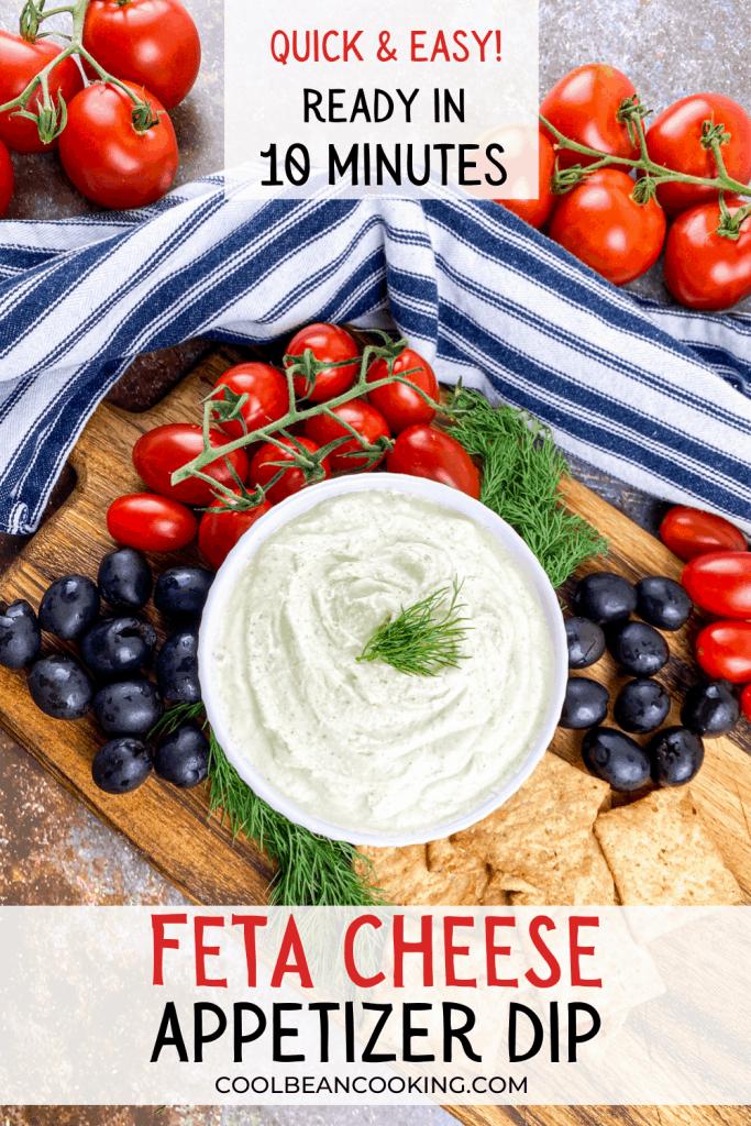 Whipped Feta Cheese Dip