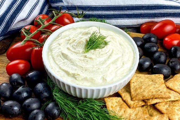 easy feta cheese dip